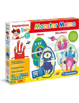 Clementoni- Monster Gioco...