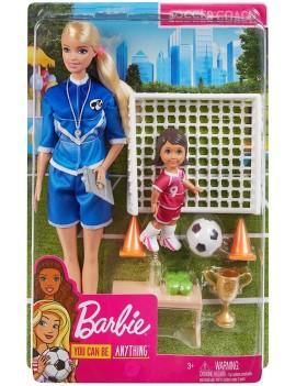 Barbie Allenatrice Di Calcio