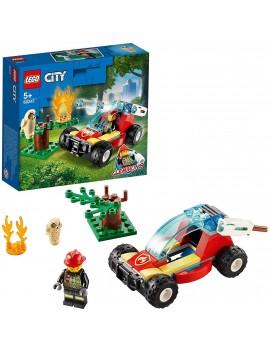 LEGO City Fire Incendio...