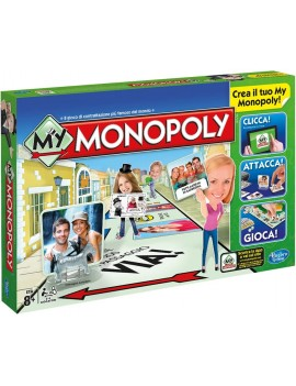 Hasbro - My Monopoly Gioco...