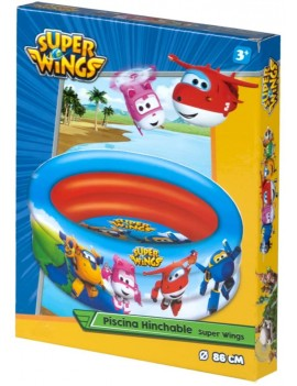 Super Wings – Piscina con 3...